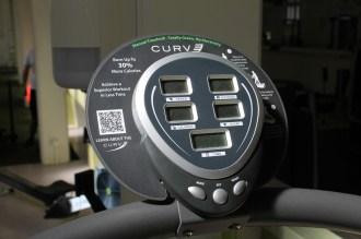 Monitor eines Cardiogerätes in HAW Studio