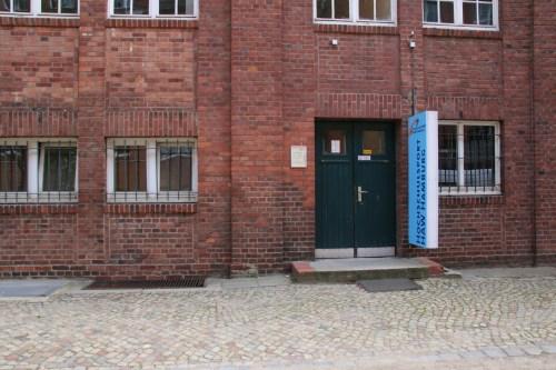 Der Eingang zum HAW Studio