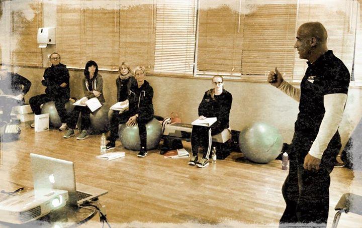 Stefan Morawietz bei der Trainer Ausbildung, Fitness, Trainer, Actic Fitness