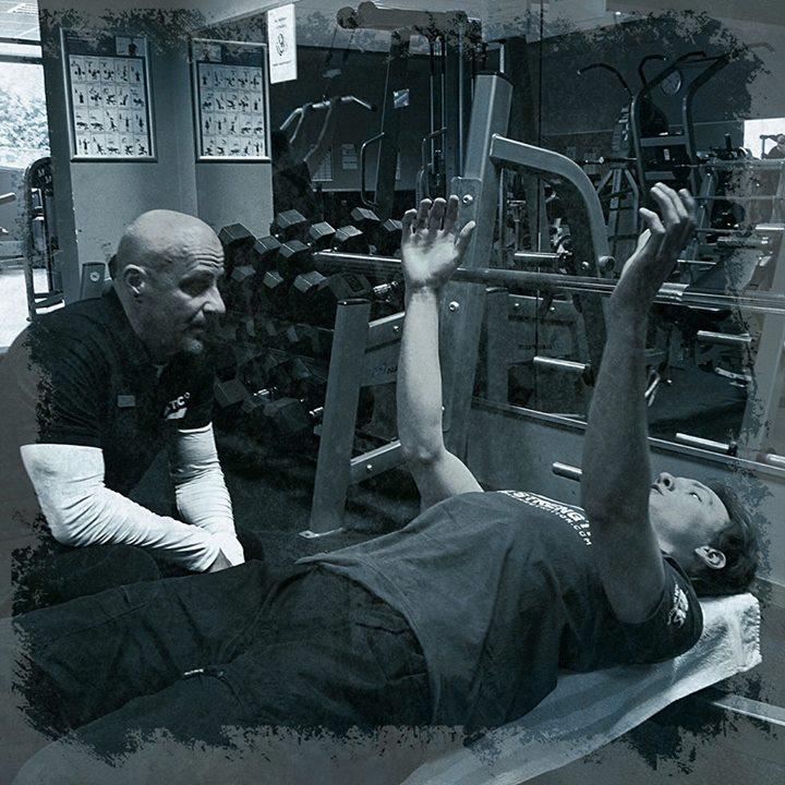 Stefan Morawietz mit Trainer bei Fortbildung