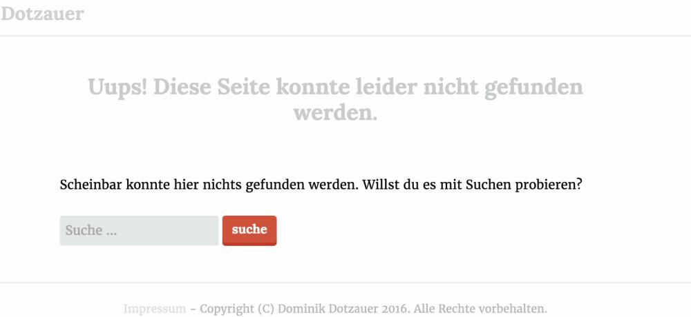 Unnötige 404 Fehler auf deiner Webseite machen deine Kunden eher misstrauisch