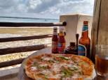 Pizza at Waterfront restaurant, Slipway, Dar es Salaam (TZS 20,000)