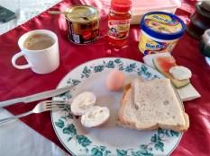Local hotel breakfast in Dodoma (price included in room TZS 40,000)