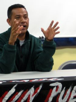 Longtime environmental defender Carlos Amador faced jail time in Honduras. Photo by Steven Schnoor