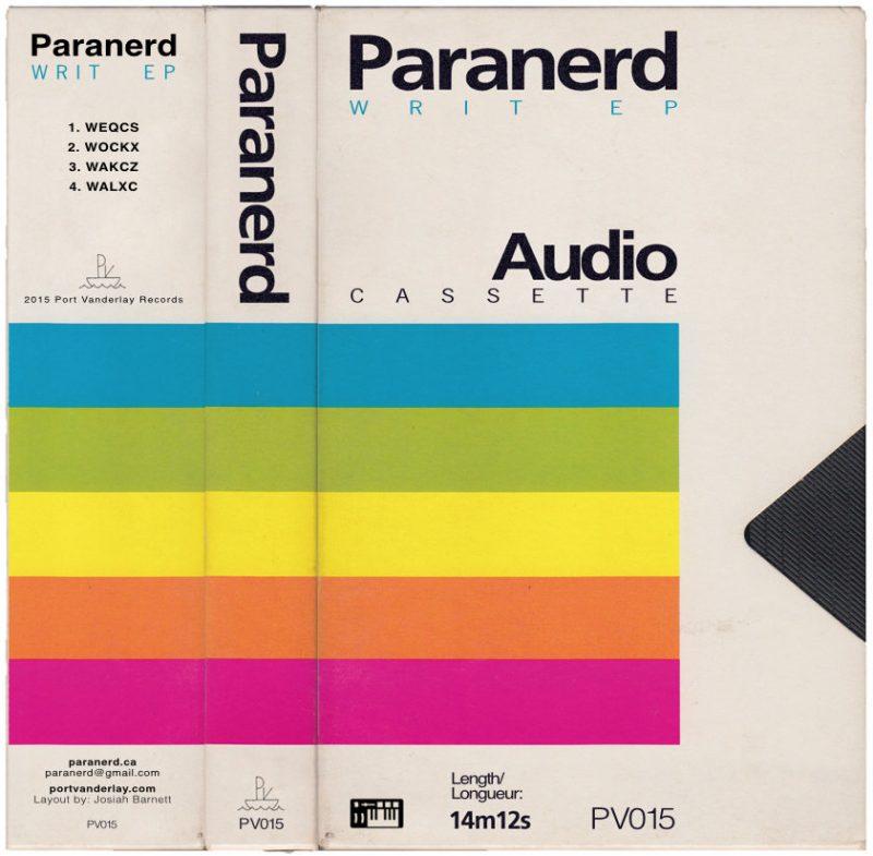 Paranerd, Writ EP