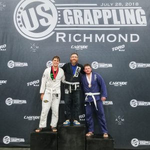 Dominion BJJ's Ken Johnson at US Grappling