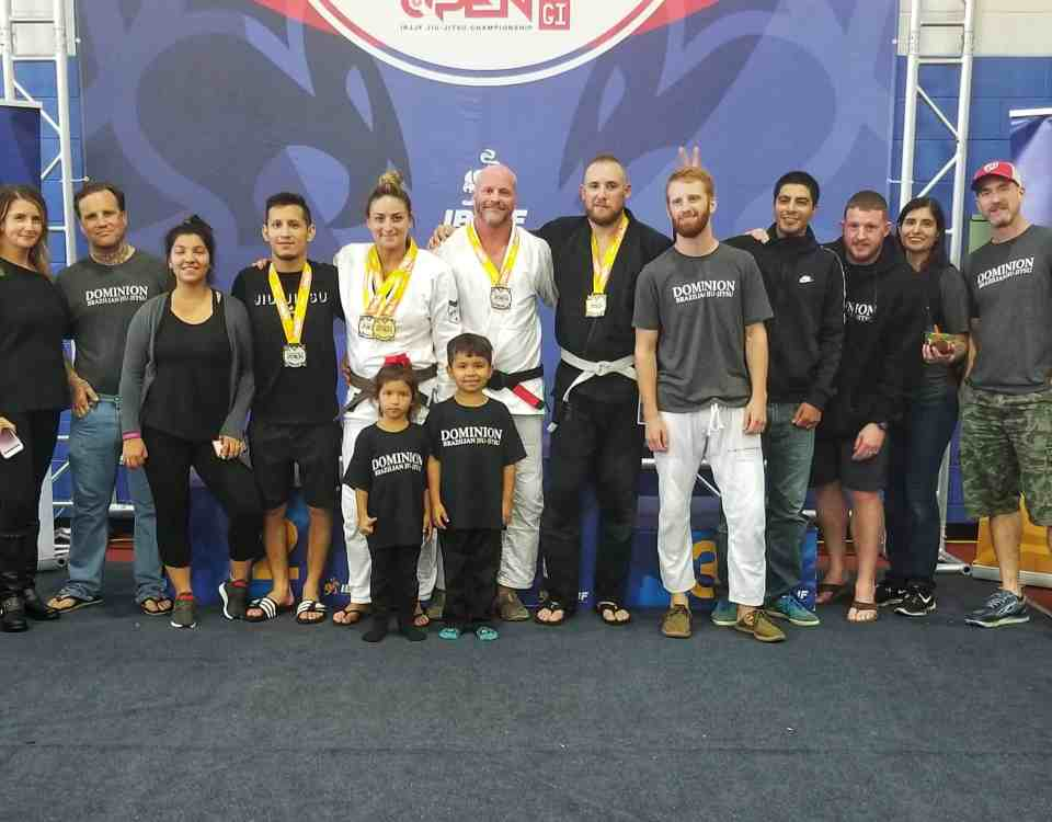 2018 IBJJF DC Open Dominion Team