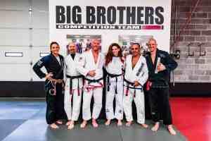 Big Brothers represent at Claudia Do Val Seminar