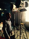 DOP Chris Baffa on set (tweeted by @DeranSarafian)
