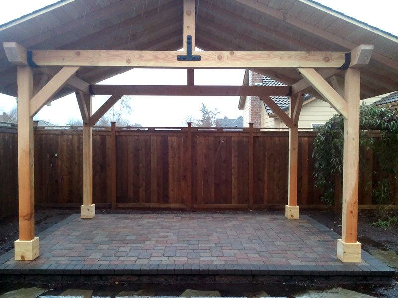 outdoor wood structures dominion