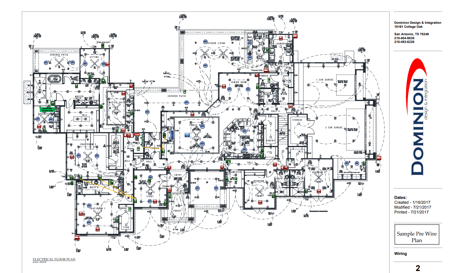 Crestron Lighting Control Wiring Diagram