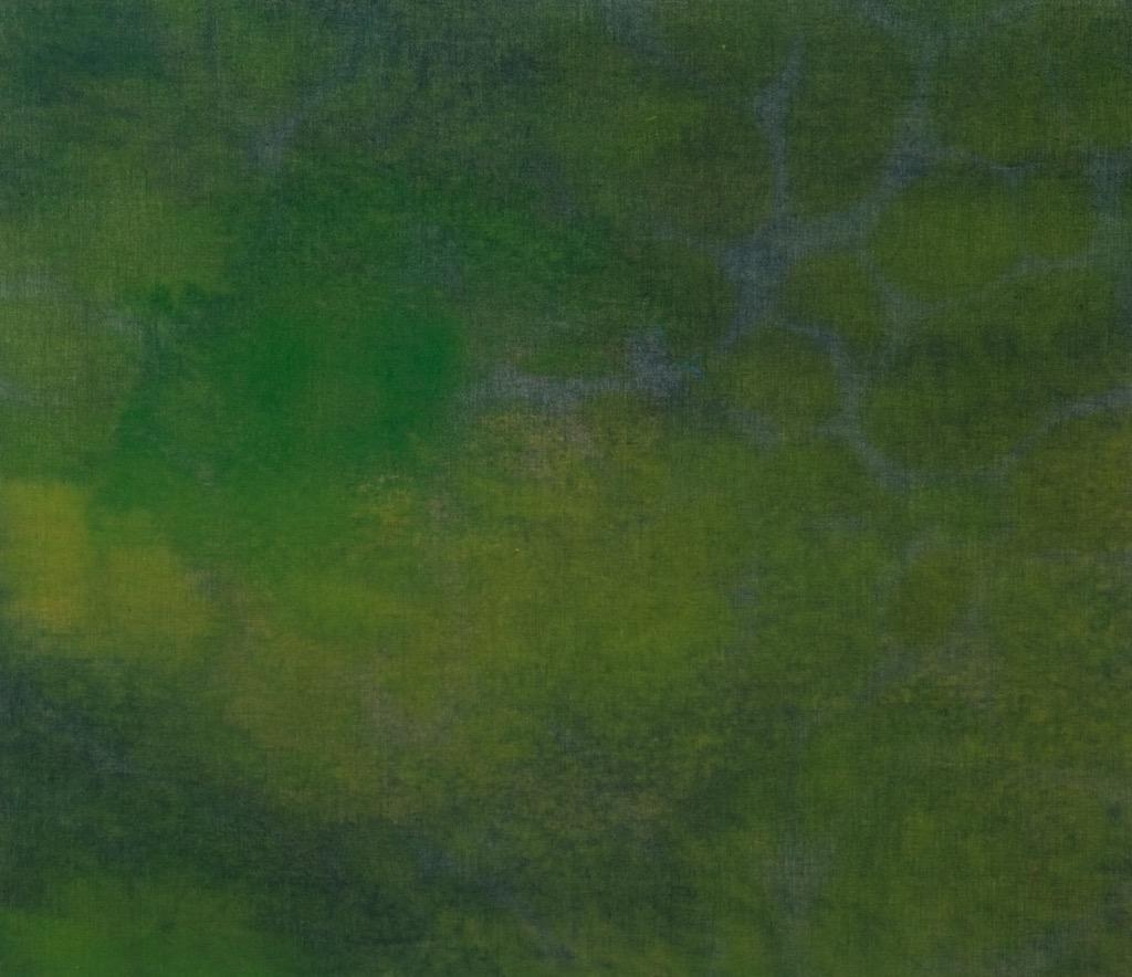 Dominiq Fournal - English Ever Green - Peinture