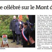 Douaumont article ER 11 oct 2016 2