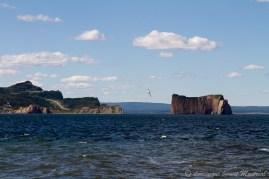Rocher Percé et la pointe de Percé