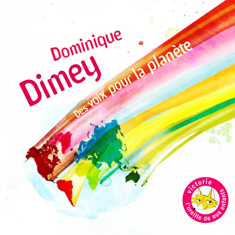 """Pochette CD de l'album """"Des voix pour la planète"""" de Dominique Dimey"""