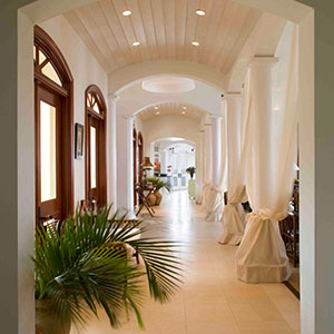 Virgin Islands sheers drapes window treatments
