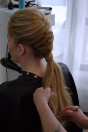 updos and hair styling