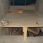 drewniana platforma