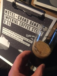 Motel Beer - Grand Banks Imperial Coffee Stout