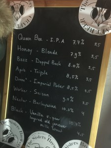 The Sisters Brewery - Taplist