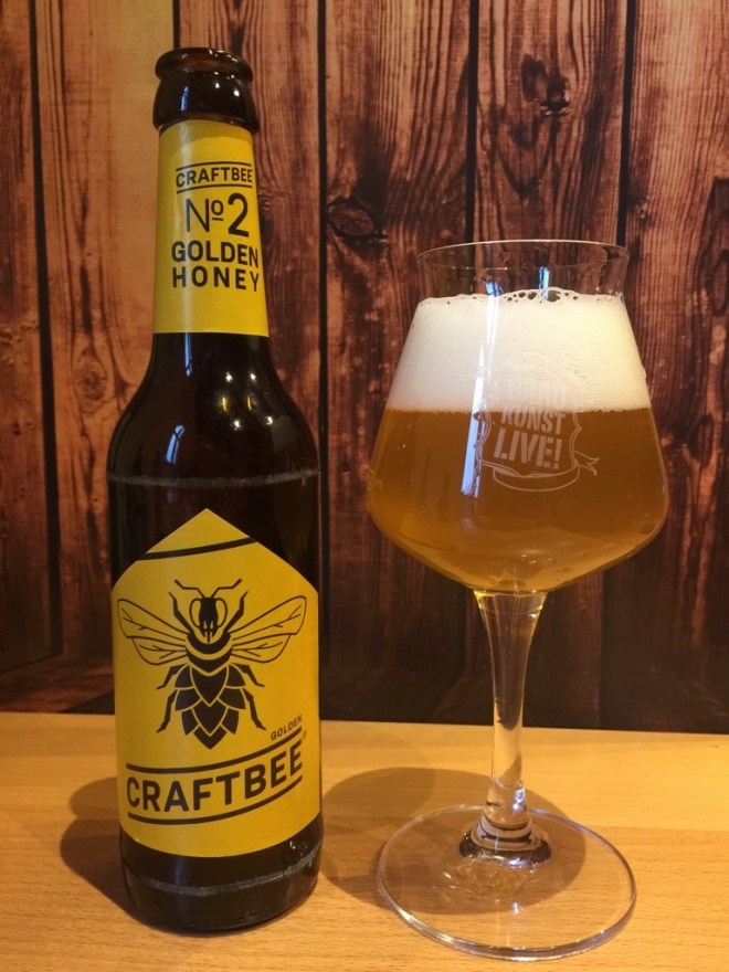 craftBee - Golden Honey im Glas