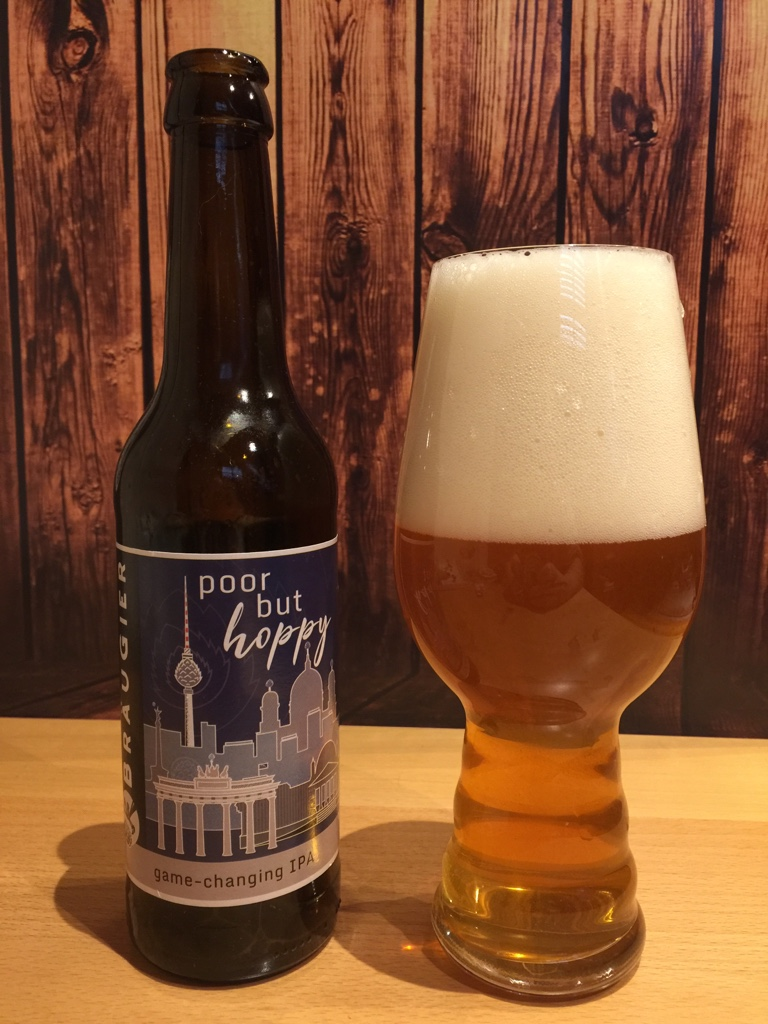 Bräugier - Poor but Hoppy IPA - ein Genuss