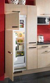 Преимущества встроенного холодильника на домашней кухне.