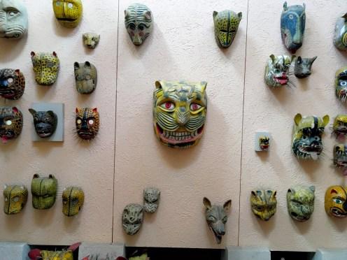 Jaguar masks
