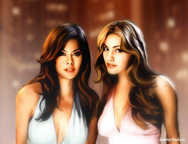 Фото двух девушек на аватарку для одноклассников