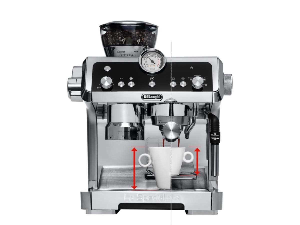 مميزات ماكينة الاسبريسو ديلونجي لا سبيشاليستا واسعارها وعيوبها