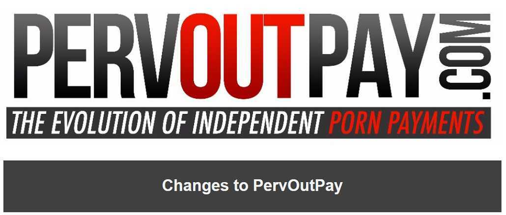 Changes to PervOutPay