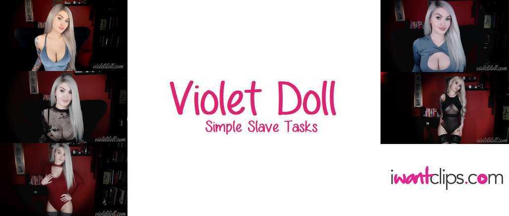 Violet Doll: Simple Slave Tasks