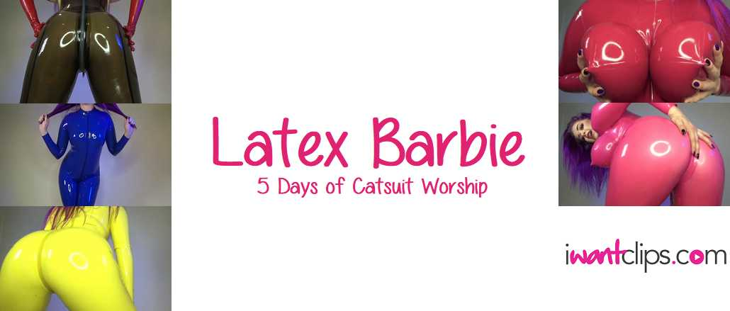 Latex Barbie: 5 Days of Catsuit Worship