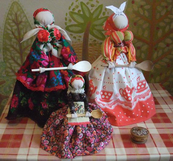 тряпичные куклы Хозяюшки