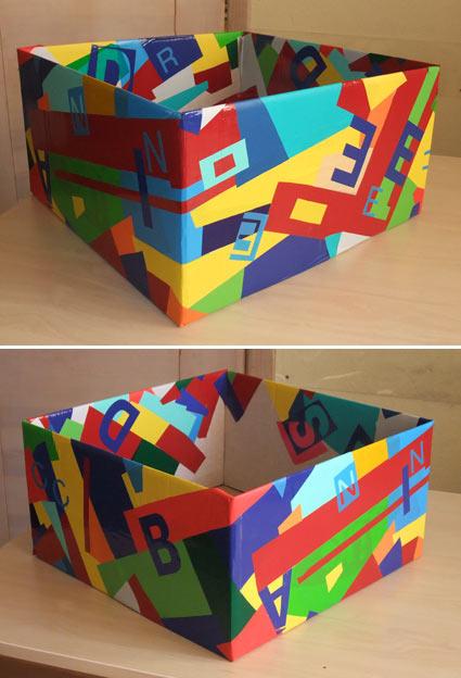 декорирование коробок