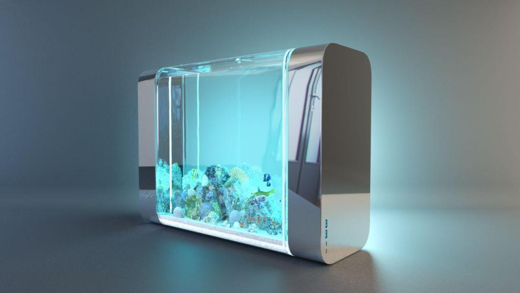 Bluenero, le premier aquarium automatique