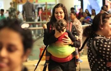 Babywearing-Flashmob-by-Anmol-Baby-Carriers-BabyFitJoy-International-Babywearing-Week-2016