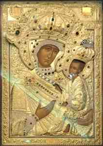 Chicago Tikhvin Icon of the Mother of God