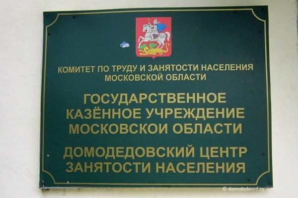 Домодедовский центр занятости населения