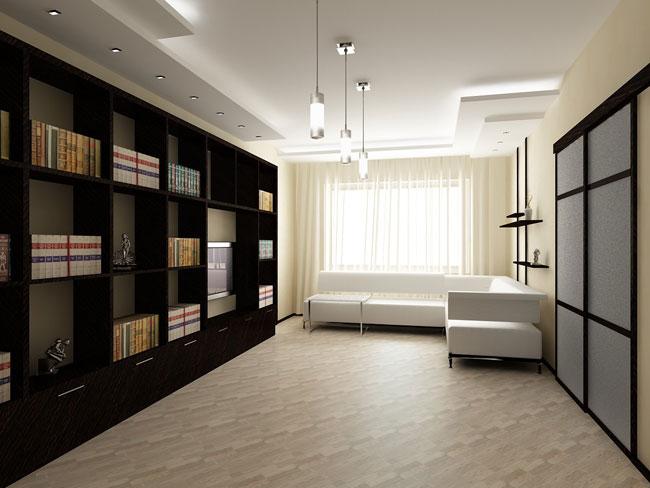 Корпусная мебель в кабинете