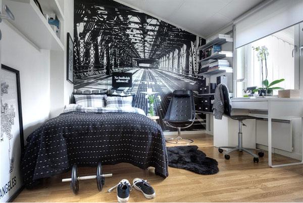 Маленькая спальня. Интерьер маленькой спальни. 10 идей для маленькой спальни. Фото спален