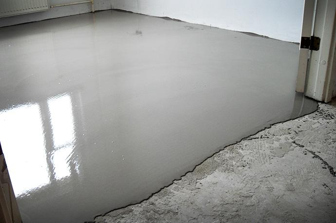 Наливной пол или жидкий линолеум
