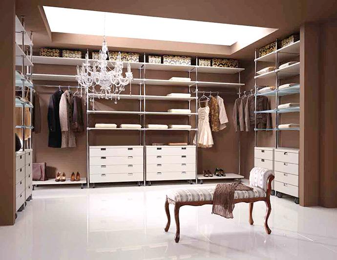 Компактная гардеробная или отдельное помещение