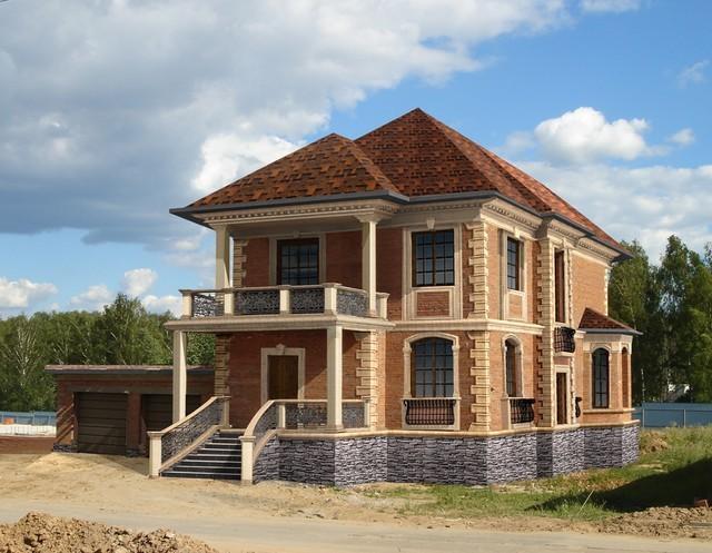 новый дом из кирпича