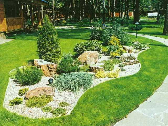 Ландшафт и ландшафтный дизайн - основные рекомендации