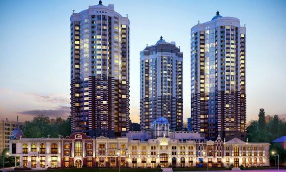 «Покровский посад» - новый комплекс бизнес-класса в центре украинской столицы