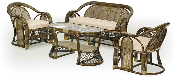 Изысканная плетеная мебель из ротанга