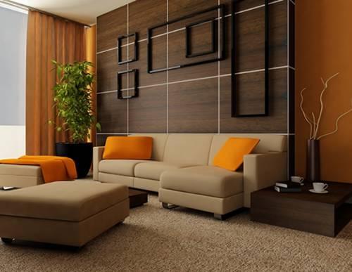 Дизайн гостиной в классическом стиле и стиле минимализм