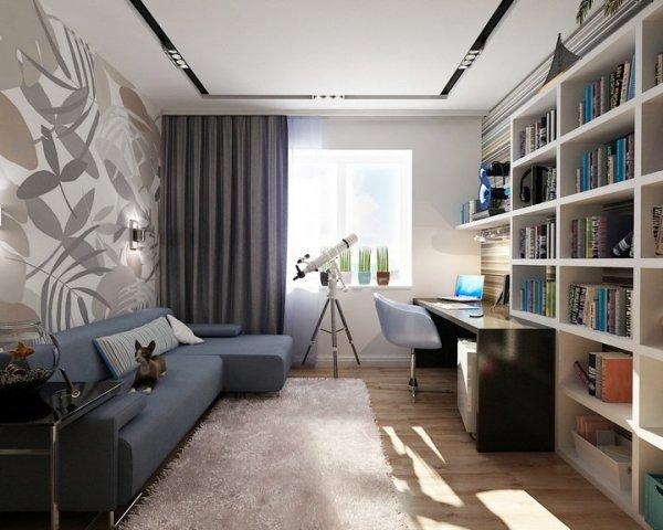 Модный дизайн комнаты для мальчика подростка в современном ...