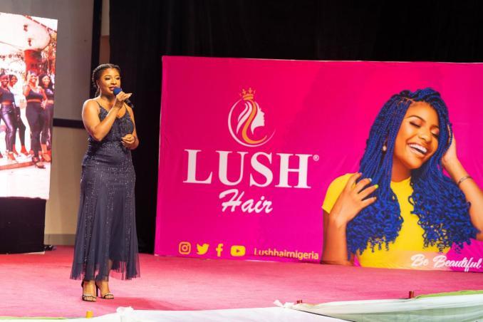 Lush Hair Wins Nigeria Choice Best Hair Brand of the Year Award